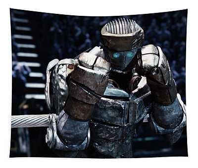 Real Steel Atom Tapestry