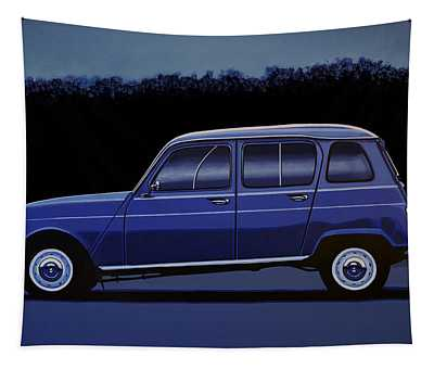 Renault 4 1961 Painting Tapestry