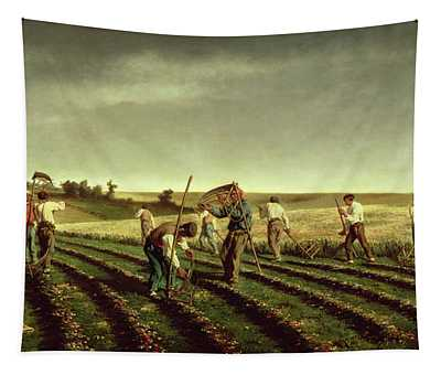 Reaping Sainfoin In Chambaudouin Tapestry