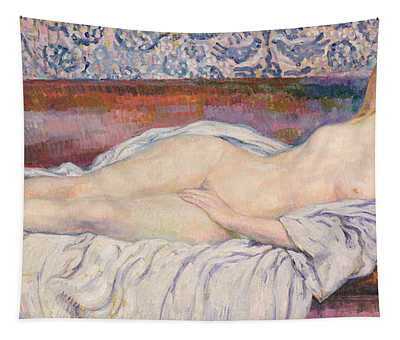 Reclining Nude  Tapestry