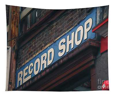 Record Shop Tapestry
