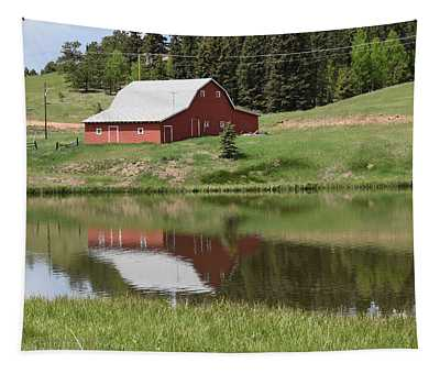 Red Barn Burgess Res Divide Co Tapestry