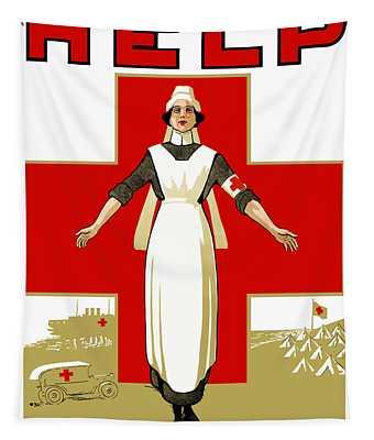 Red Cross Nurse - Help Tapestry