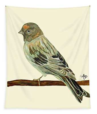 Red-fronted Serin Tapestry