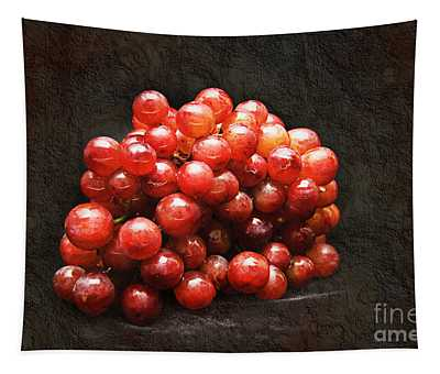 Red Grapes Tapestry