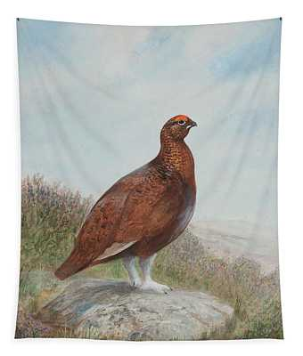 Red Grouse Tapestry