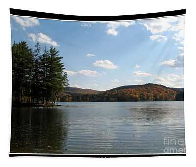 Red House Lake Allegany State Park Ny Tapestry