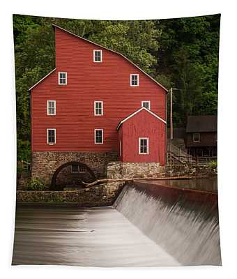 Red Mill Clinton New Jersey Tapestry