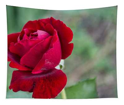 Red Red Rose Tapestry