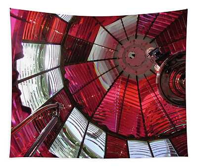 Red Reflections Tapestry