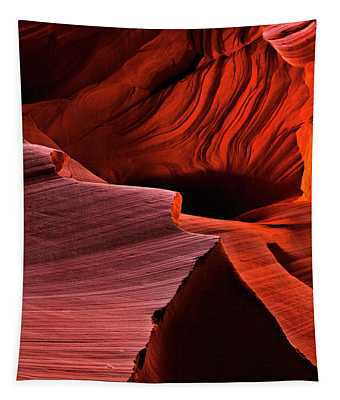 Red Rock Inferno Tapestry