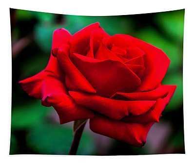 Red Rose 2 Tapestry