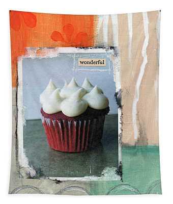 Red Velvet Cupcake Tapestry