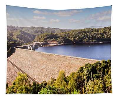Reece Dam, Western Tasmania Tapestry