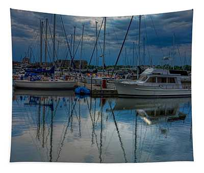 Reefpoint Marina Square Format Tapestry