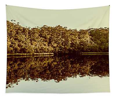 Reflections From Cockle Creek  Tapestry