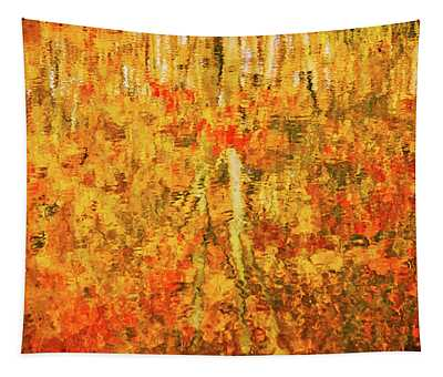 Reflections Of Fall Tapestry