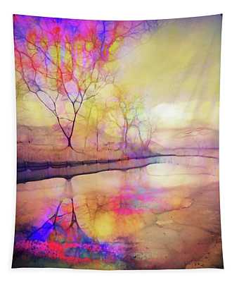 Reflections On Ice Tapestry