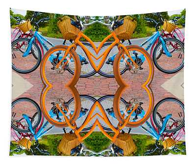 Reflective Rides Tapestry