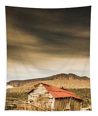 Regional Ranch Ruins Tapestry