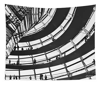 Reichstag Dome In Berlin Tapestry
