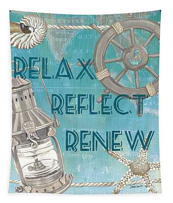 Relax Reflect Renew Tapestry