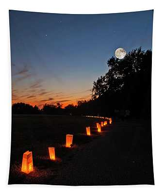 Relay  For Life Tapestry