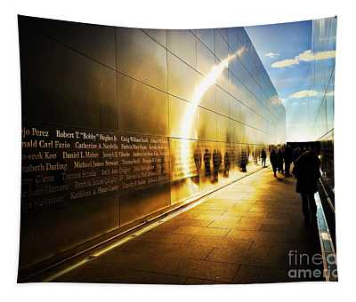 Remembrance At Empty Sky Tapestry