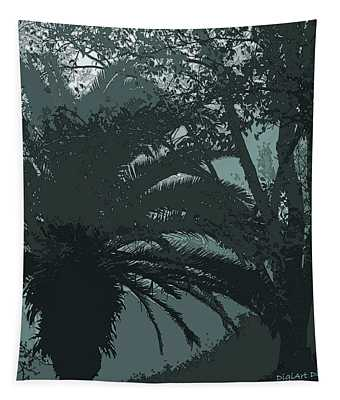 Rendezvous In The Fog Tapestry