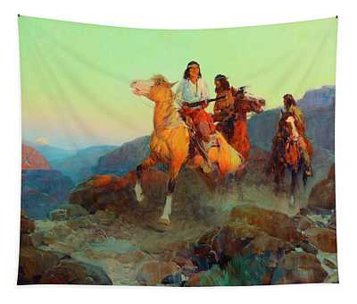 Renegade Apaches Tapestry