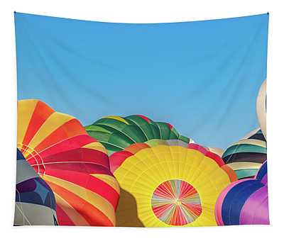 Reno Balloon Races Tapestry