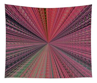 Repeating Colors Tapestry