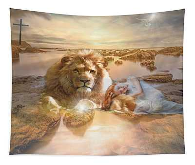 Divine Rest Tapestry