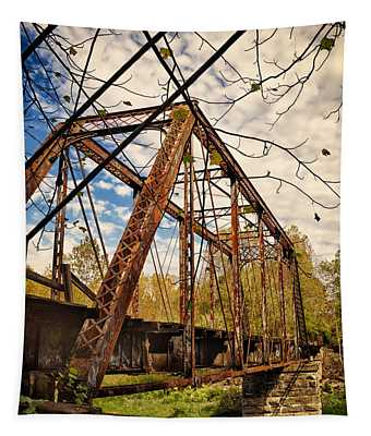 Retired Trestle Tapestry