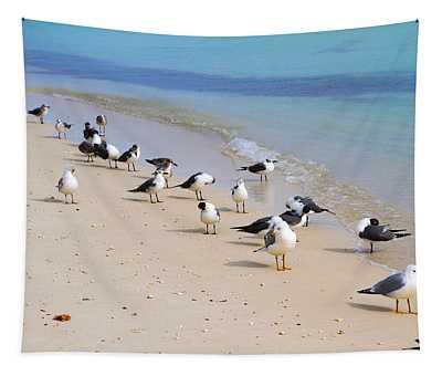 Rhapsody In Seabird Tapestry