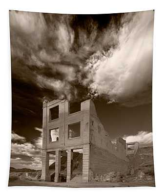 Rhyolite Nevada Ghost Town Tapestry