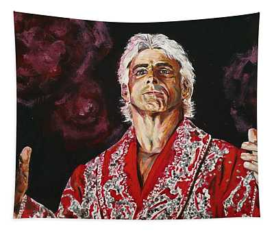 Ric Flair Tapestry