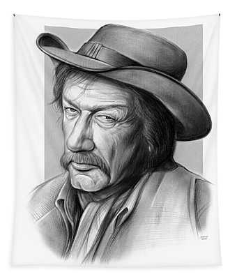 Richard Boone 3 Tapestry