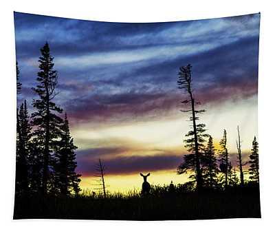 Ridge Sihouette Tapestry
