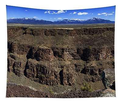 Rio Grande Gorge Near Taos Tapestry