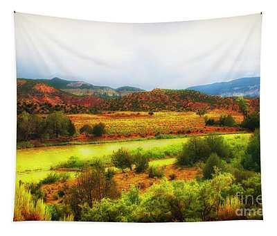 Rio Grande New Mexico Tapestry