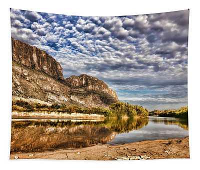 Rio Grande River 1 Tapestry
