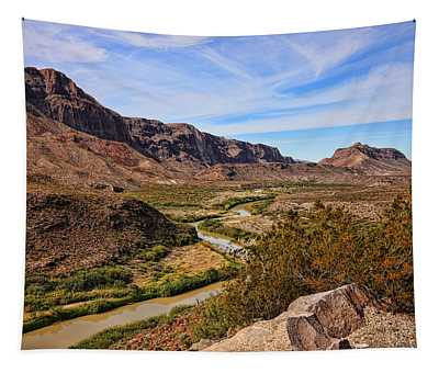 Rio Grande River 5 Tapestry