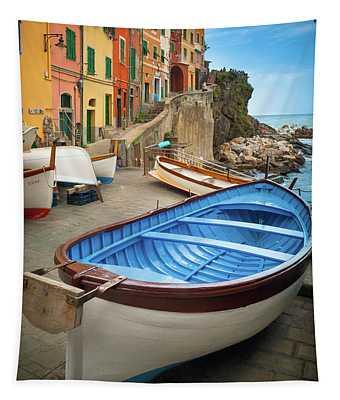 Rio Maggiore Boat Tapestry