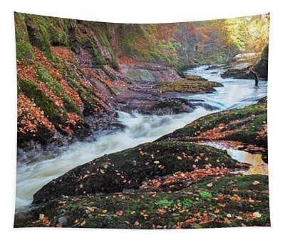 River Esk Rapids Tapestry