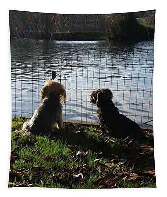 River Gazing Tapestry