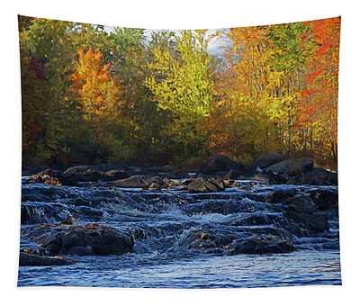 Rapids Wall Tapestries