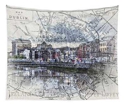 River Liffey Dublin Tapestry