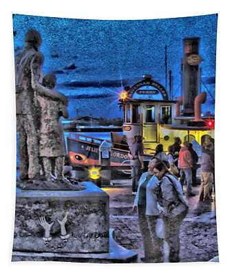 River Street Blues Tapestry