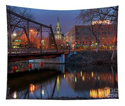 Riverplace Minneapolis Little Europe Tapestry